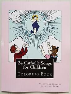 24-Catholic-Songs-for-children-Coloring-Book-SJS-OLVS-Gr-K-1-Music-Art