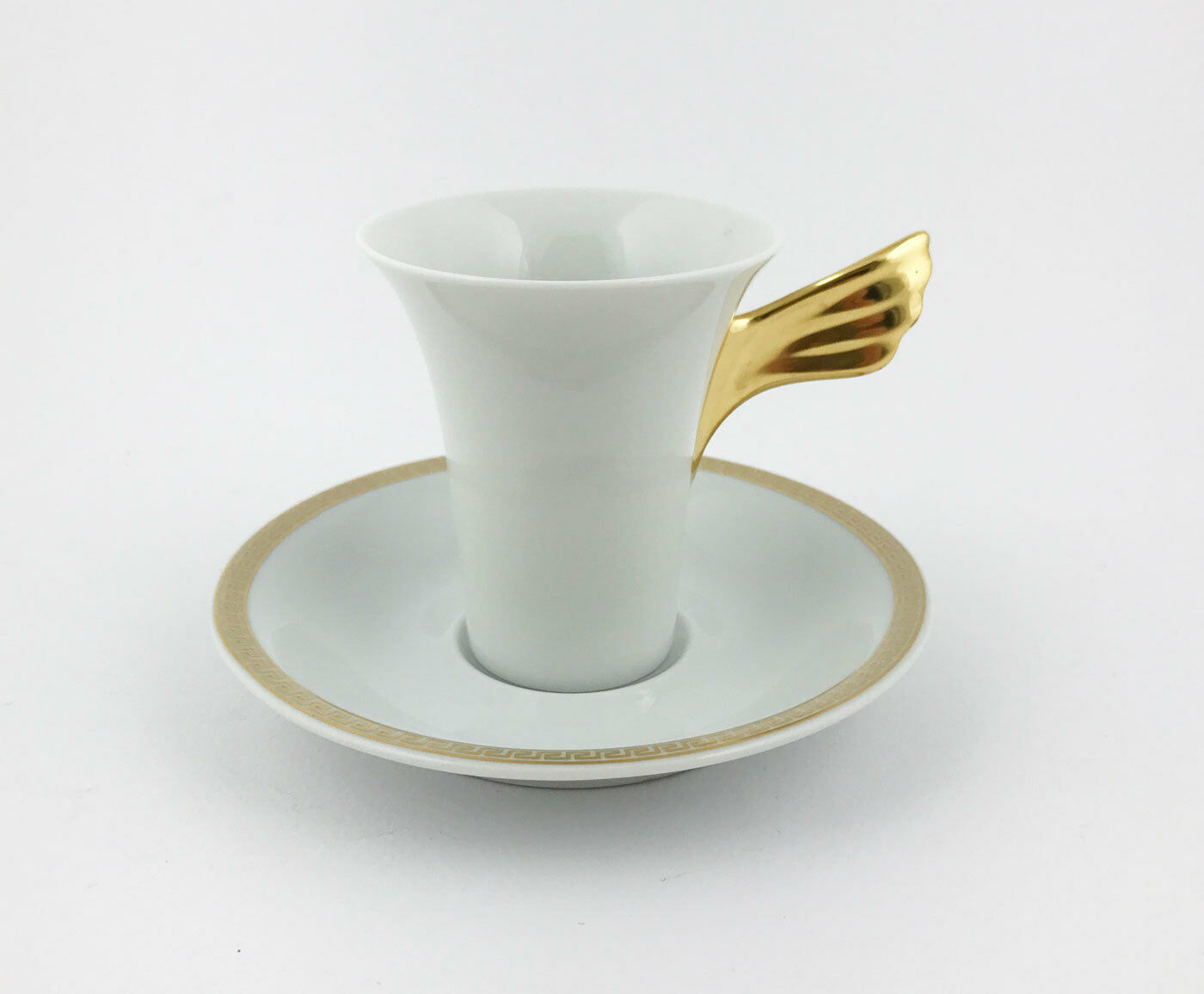 19310 409950 14720 Rosenthal Versace Medaillon Meandre d'or tazza caffè espresso