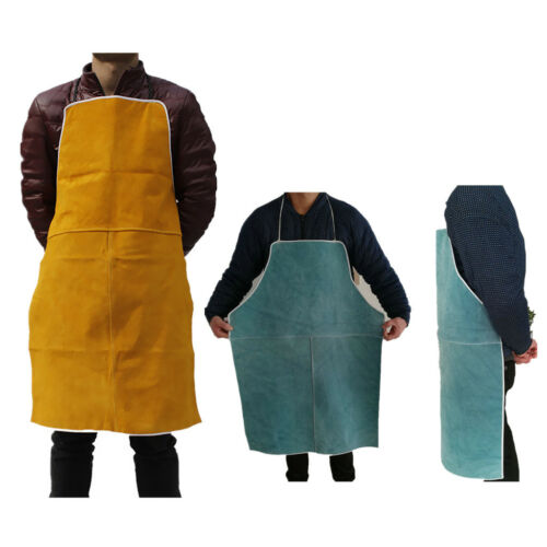 Welder Apron Welding Clothing Work Safety Gear Fire Flame Resistant 2 Colors