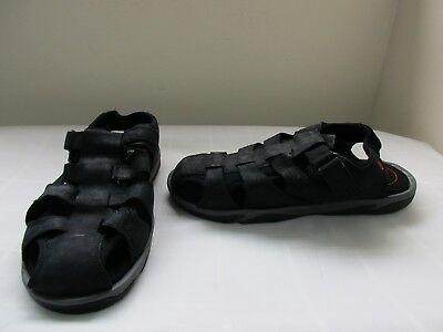 New Boy/'s Outland Equinox II Jr Sport Sandals S6034KBK Medium Black//Green 30G pc