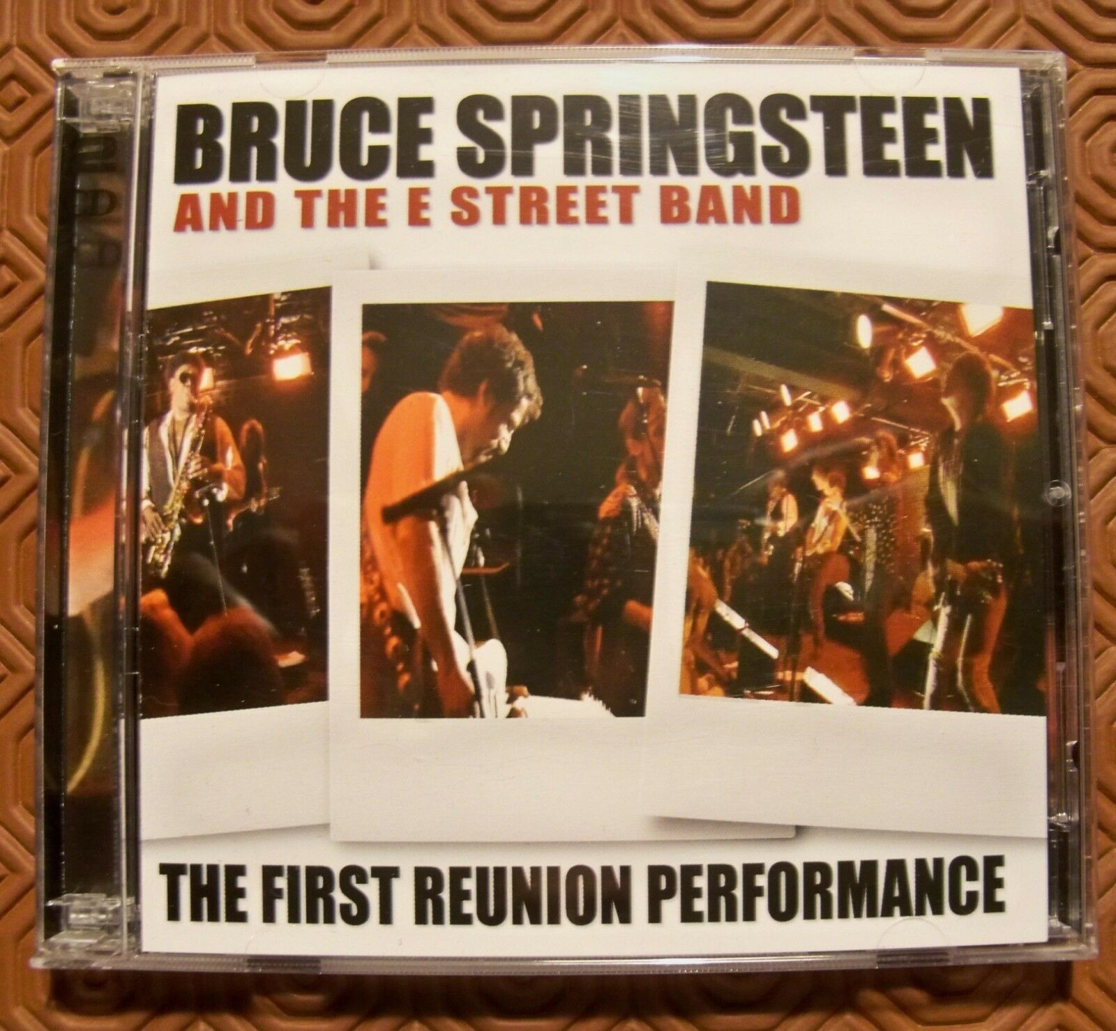 BRUCE SPRINGSTEEN  FIRST REUNION PERFORMANCE  2CD LIVE TRAMPS NIGHTCLUB NYC 1995