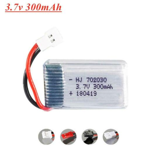 3.7V 300mAH Lipo Battery For Syma X11C Udi U816 U830 F180 E55 FQ777 Hubsan H107