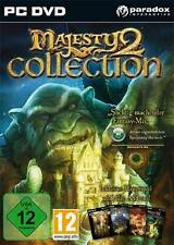MAJESTY 2 COLLECTION + Kingmaker + Monster Kingdom + Battles of Ardania NEU
