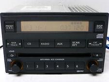 NISSAN XTERRA TITAN RDS Radio 6 CD DISC CHANGER MP3 Player 05 06 07 08 09 10 11
