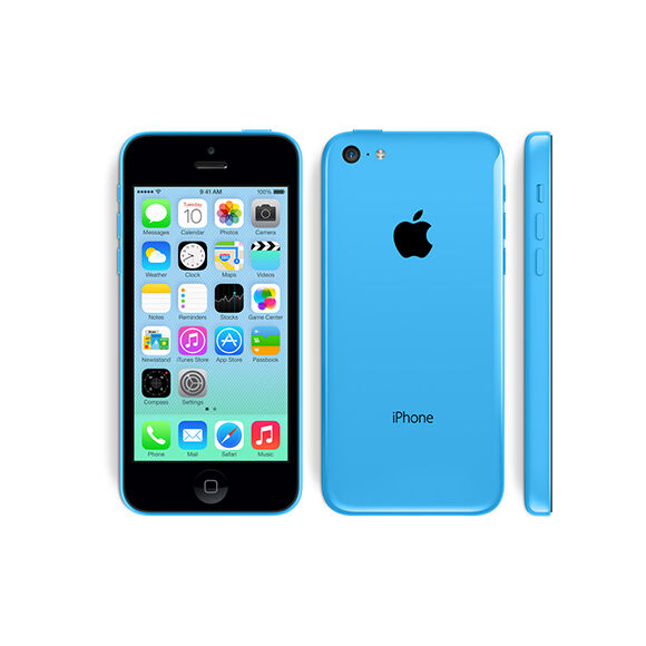 APPLE IPHONE 5C 8GB CELESTE GRADO A/B CON ACCESSORI SMARTPHONE RICONDIZIONATO
