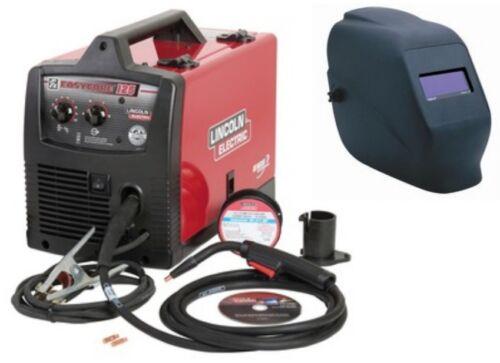 NEW Lincoln K2696-1H Easy-Core 125 wire feed welder with KH605 autodark helmet