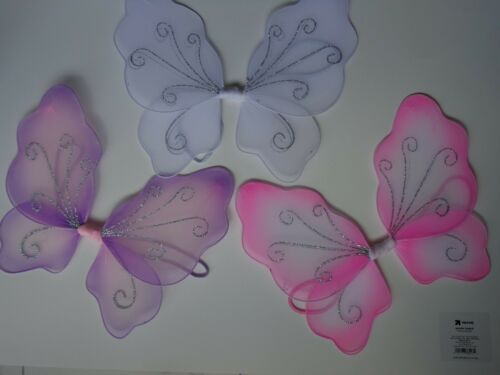 12 X SMALL 2 TONE FAIRY WINGS~TINKERBELL ANGEL DRESS UP