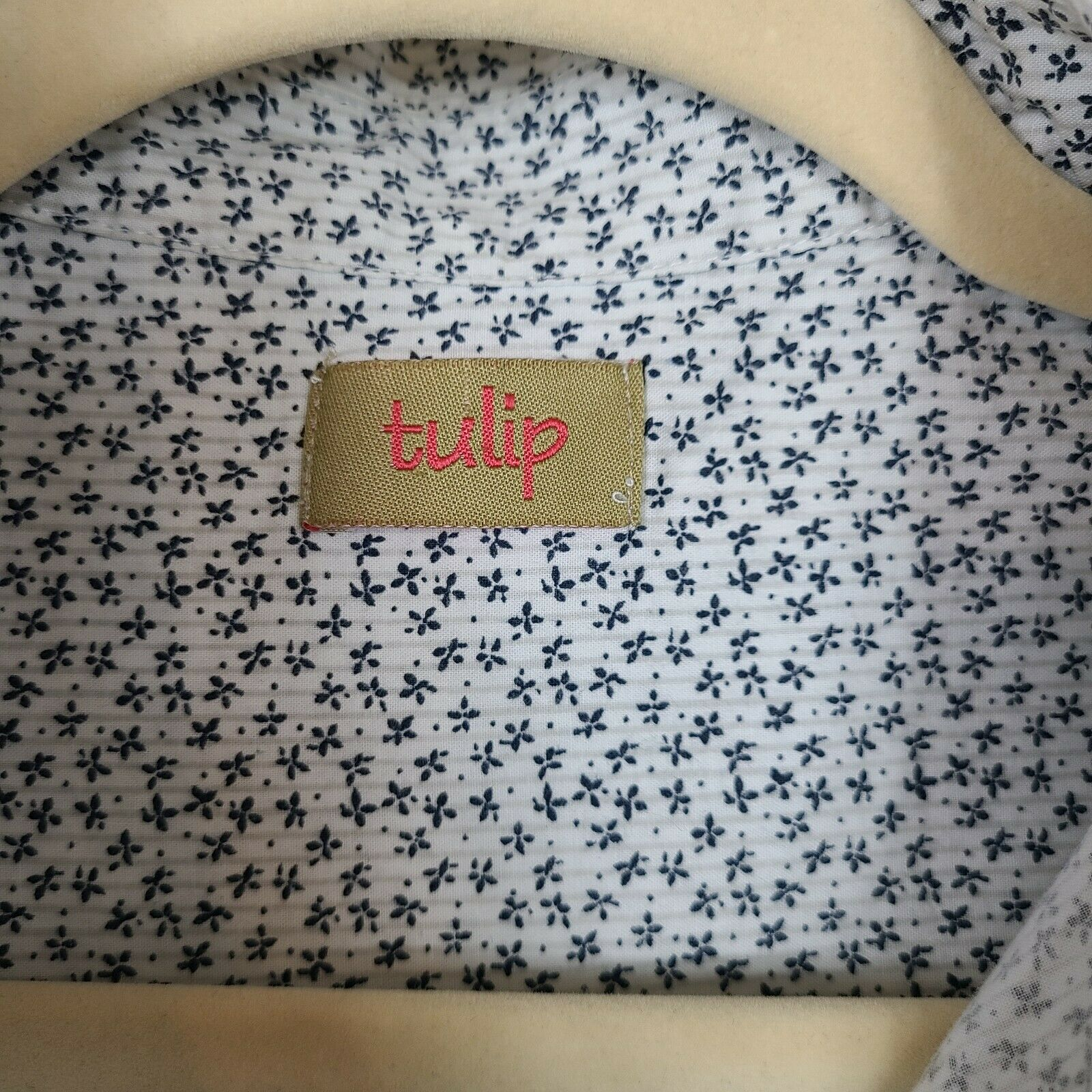 Tulip Women's Button Down Blouse Size Small Overs… - image 6