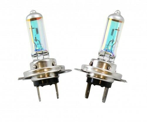 2x H7 XENON HEADLIGHT BULBS HEAD LAMPS SET BRIGHT MEGA WHITE 12V 60W/55W DUOPACK