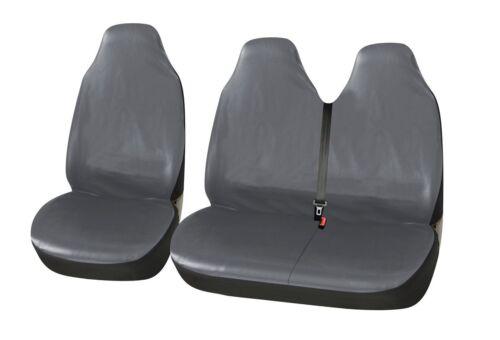 2+1 Cuir Synthétique Luxe Sitzbezüge Housses De Protection Gris Haute Qualité Neuf Pour TOYOTA VW