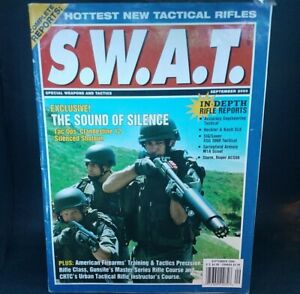 "Sept. 2000 SWAT Magazine ""Hottest New Tactical Rifles Special Weapons & Tactics"""