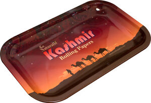 Kashmir-10-5x6-Tray-Rolling-Papers-Brand-Vintage-Style-Cigarette-Rolling-Tray