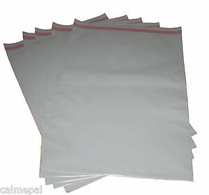 GREY-POSTAL-POST-MAIL-MAILING-BAGS-5x-21-x-29