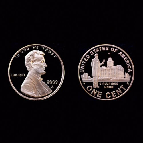 Coin from Original Proof Set 2009 S Lincoln Professional Mint Proof ~ U.S