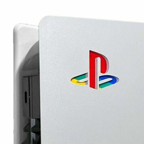 PS5 Playstation 5 Retro Console Logo Vinyl Sticker Decal Skin Underlay