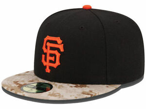 cd983311d Details about Official MLB 2015 San Francisco Giants Memorial Day New Era  59FIFTY Fitted Hat