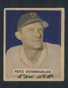 1949-Bowman-227-Fritz-Ostermueller-VGEX-Pirates-104321