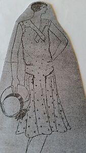 Vintage ladies Dress Pattern *1920's -Ideal Co.#132