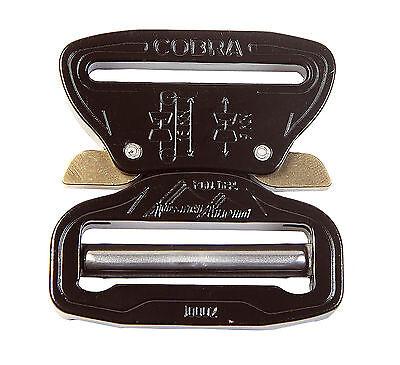 Austrialpin 45mm 1.75 Nero Cobra Fibbia + Extra Grande Clip - Fc45kvf-xl Acquista Sempre Bene