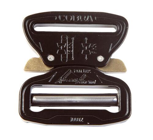 "FC45KVF-XL Extra Large Clips AustriAlpin 45mm 1.75/"" Black Cobra Buckle"
