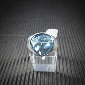 Ring-Gr-58-Silber-925-mit-einem-blauen-Edeltopas-aus-Brasilien
