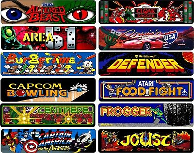 Arcade Signs Classic Arcade Game Marquee Game Room Aluminum Sign Choose Game