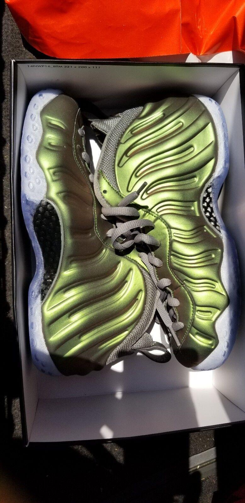 Nike Women's Air Foamposite One Dark Stucco/Dark Stucco/Basketball Shoe size 9 Wild casual shoes