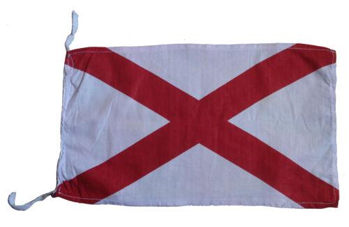 "V 8/"" X 13/"" 100/% Cotton – Marine Code Naval Signal Flag Nautical // Boat"
