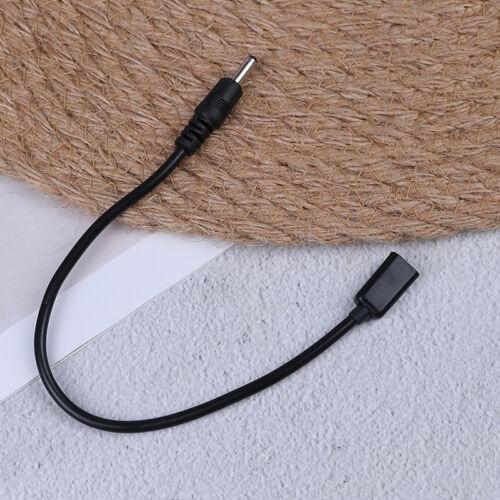 DC power micro usb female socket to dc 3.5 x 1.35mm male plug adapter cableFDJB