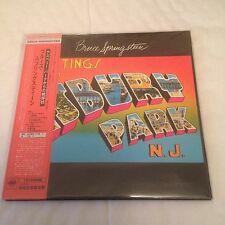 Bruce Springsteen - Greetings From Asbury Park - Japanese CD [Obi + Lyric Sheet]