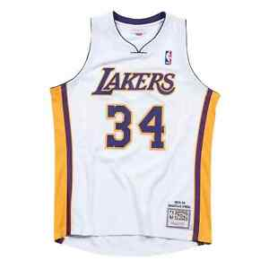 Mitchell & Ness Shaquille O'Neal 2003-04 Los Angeles Lakers ...