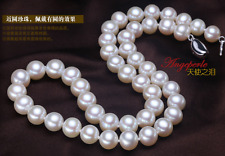 80/%OFF 6-7.5mm 16//18inch AAA Akoya Cultured Silver Gray Pearl Necklace Handmade