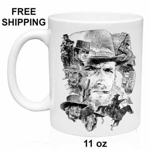 Grandma White Mug 11 oz Grandpa Clint Eastwood Birthday Christmas Gift