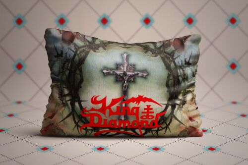 Cool King Diamond Poster Zippered Pillow Cases 20X30