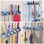 Vicloon-Broom-Mop-Holder-Tidy-Organizer-Wall-Mounted-Organizer-with-5-Position thumbnail 6