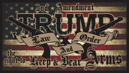 Donald Trump Bumper Sticker 5 inch High Quality Vinyl Sticker 3 Pack