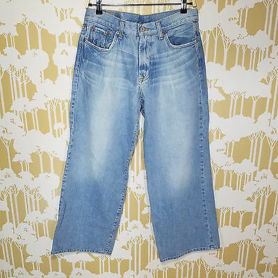 Lucky Brand Men S Gravel Transit Blue Jeans Usa Made Denim Pants Size 31 Short Ebay