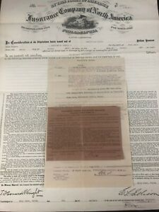 Villanova-PA-Dundale-Property-Theodore-Morris-Fire-Insurance-Policy-1913
