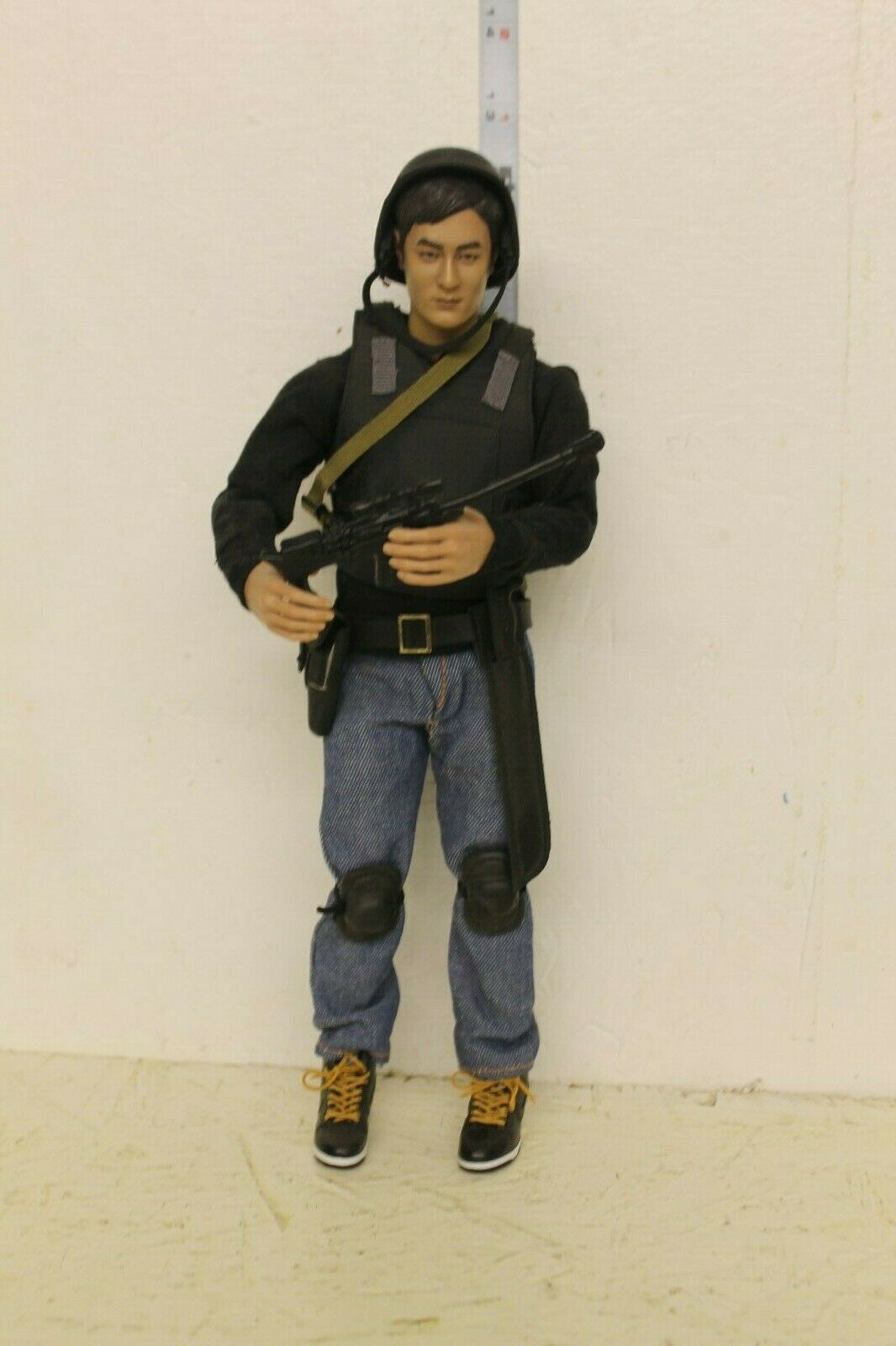 Walking Dead Figura Glenn 12in personalizado hecho suelto