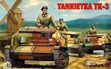 Tk 3 Blindados Portugal vehículo Polonia 1939 1/35 Rpm Panzer (Tks)
