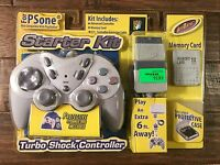 Intec Sony (ps1) playstation Grey (turbo Shock Controller) starter Kit,