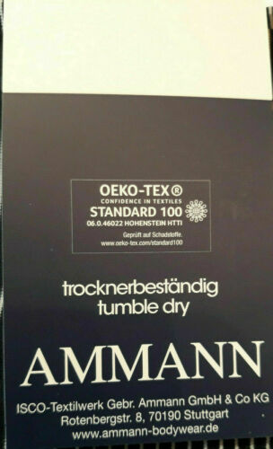 AMMANN ISCO Boxershorts Größe 3XL//9 Pants Hipster Retro Short grau 1355290