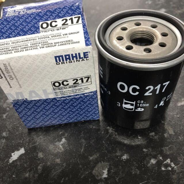 Toyota MR2 I 1.6 W1 & mr2 III 1.8 W3 Mahle Knecht Oil Filter OC217