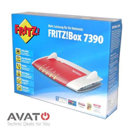 1 von 1 - AVM FRITZBox 7390 VDSL DSL Modem Gigabit Router *2 Jahre Gewährleistung*