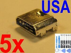 5x Micro USB Charging Port Sync For Samsung Galaxy Tab E SM-T560NU Tablet USA