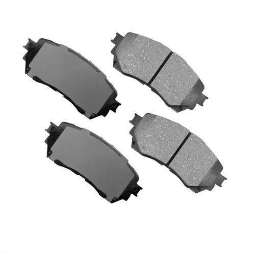 D1711 Front Disc Brake Pads Ceramic for Mazda 6 18-14 2.5L