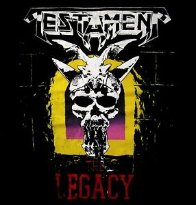 TESTAMENT-cd-cvr-THE-LEGACY-Official-SHIRT-XL-New-vintage-style