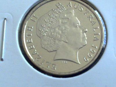 50c Coin Ex Mint Set Free Post Aust! 2001 Australian Specimen UNC Fifty Cent
