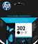 miniatura 2 - ORIGINALE HP 302/302XL Nero & Cartucce di inchiostro colore per HP Deskjet 3634 LOTTO