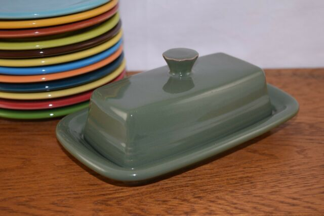 SAGE Fiesta® Extra Large Covered Butter Dish Set